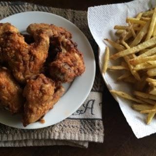 Crispy Fried Hot Wings Recipe