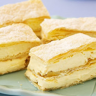 French Vanilla Slice Recipe