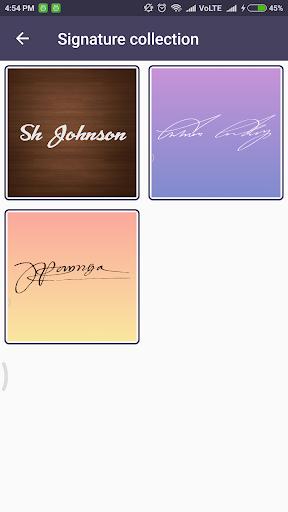 Signature Creator 6.0.2 screenshots 4