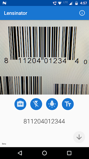 Lensinator - OCR, Object, Barcode Scanner Appar för Android screenshot