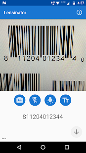 Lensinator - OCR, Object, Barcode Scanner Screenshot