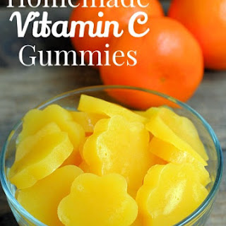 Homemade Vitamin Gummies.