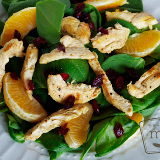 Citrus Chicken Salad Strips