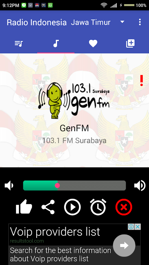 Radio Indonesia Lengkap- screenshot