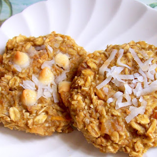 Tropical Coconut Mango Breakfast Cookies