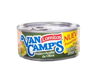 ATÚN VAN CAMPS LOMITOS   EN ACEITE DE OLIVA X160G.