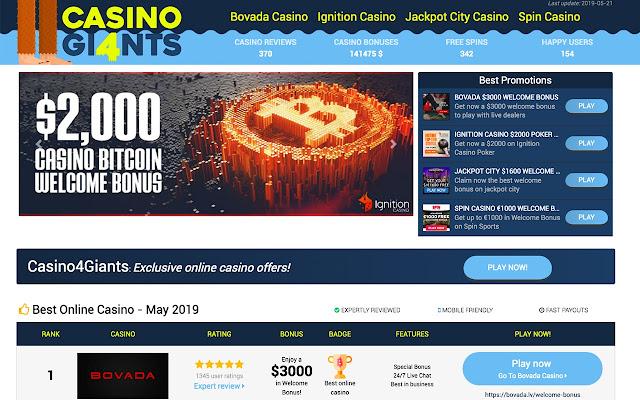 Casino4Giants - Best online Casino