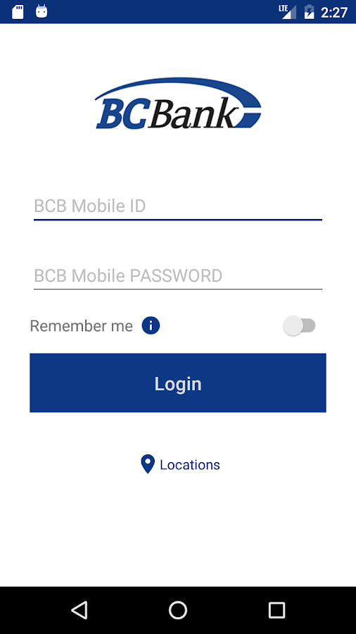 BCBMobile- screenshot