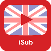 iSub- Learn English Video with transcript subtitle