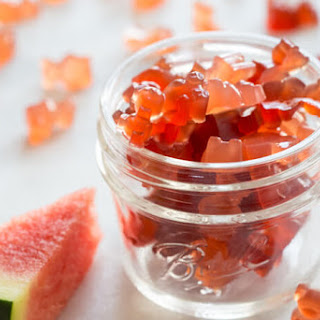 Homemade Sour Watermelon Fruit Chews.