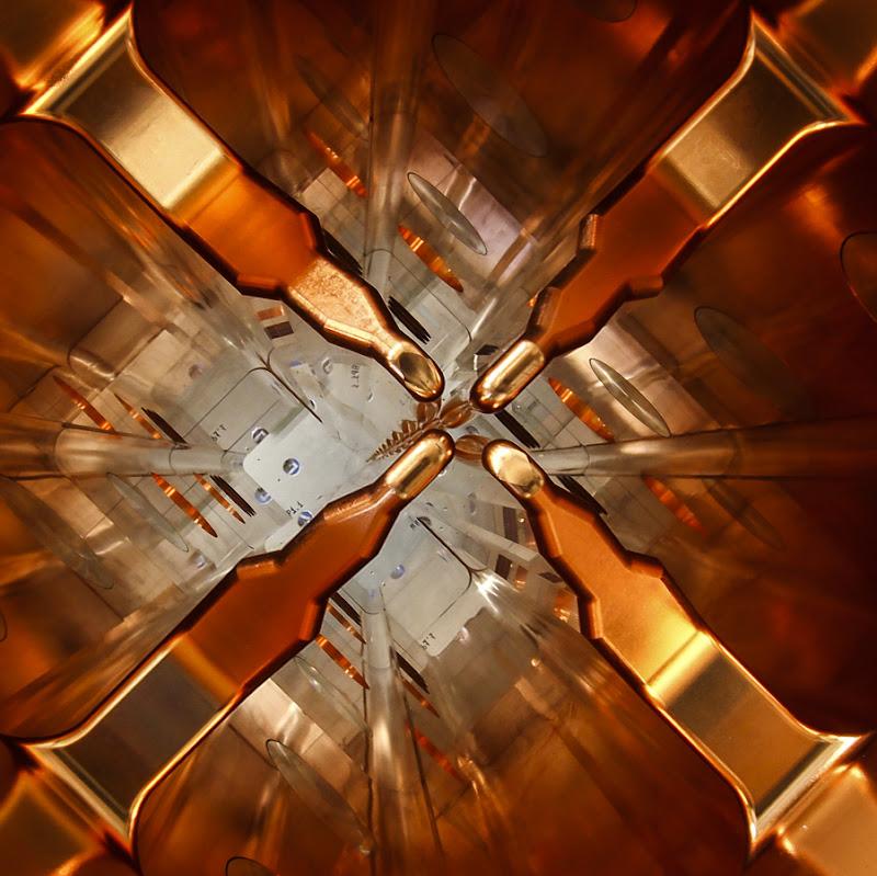 Cavità risonante a radiofrequenza RFQ. di daniele1357