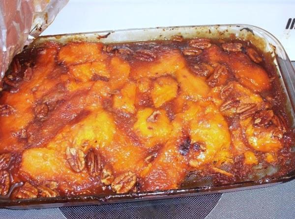 Thanksgiving Strussel Sweet Potato's Recipe