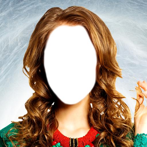 女人髮型的照片蒙太奇 攝影 App LOGO-硬是要APP