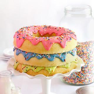 Triple Stack Donut Cake Recipe