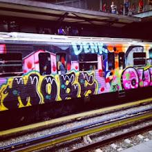 Photo: The subway