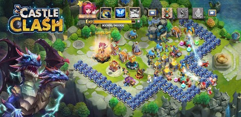 دانلود بازی Castle Clash: Heroes of the Empire US
