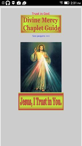 Divine Mercy Chaplet Guide