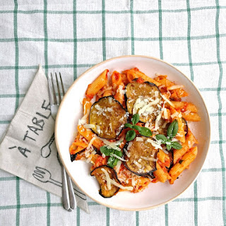 Pasta alla Norma - Sicilian-style Eggplant and Tomato Pasta.