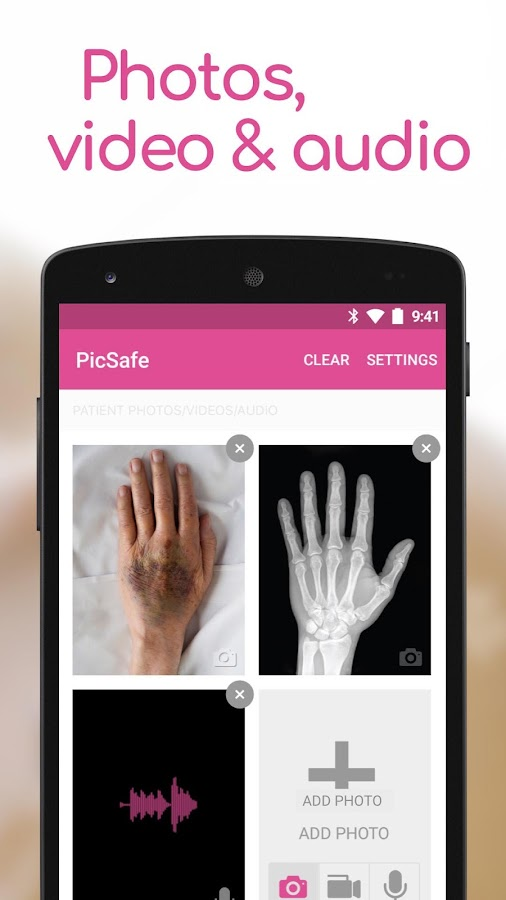 PicSafe- screenshot