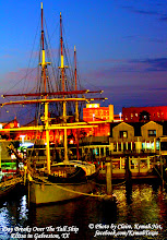 Photo: Day Breaks Over The Tall Ship Elissa  in Galveston, TX.  A © Photo by Claire, Kemah.Net, facebook.com/KemahTexas