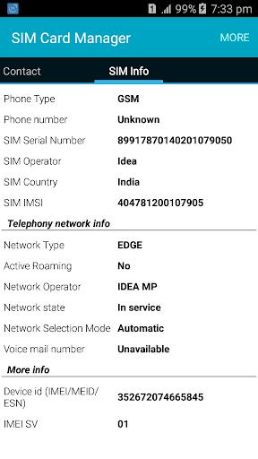 SIM Card Manager