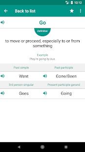 Irregular Verbs - náhled