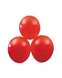 Röda ballonger, 25 st