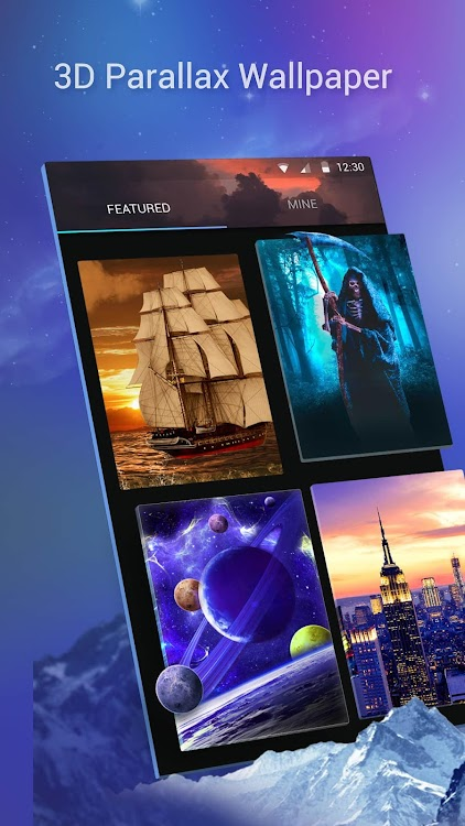 3d Parallax Live Wallpaper Hd Animated Background