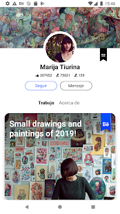 Behance Screenshot