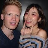 making friends at PLAY nightclub in Hong Kong in Hong Kong, , Hong Kong SAR