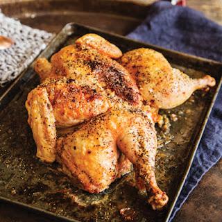Nectarine & Ginger Roasted Chicken.