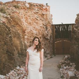 Desert beauty by Jaycee Reynolds - Wedding Bride ( bride, outdoor, wedding photography, wedding photographer, bridal, outdoor photography, portrait photographers, photographer, wedding, brides, portrait, photography )