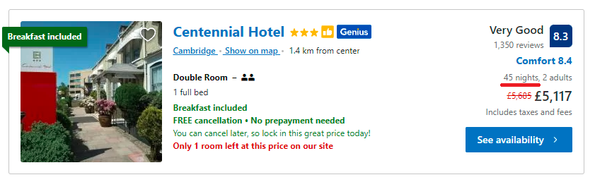 Has Booking.com Extended the Maximum Length of Stay- Zeevou