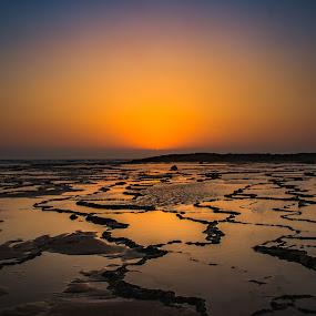 Let it Shine  by Adriano Freire - Landscapes Sunsets & Sunrises ( praia, sunset, milfontes, areia, mar )
