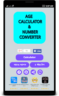 Age Calculator Number Convert - náhled