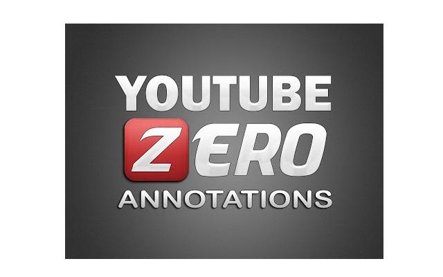 Youtube Zero Annotations