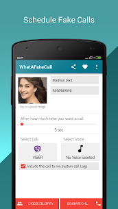 WhatAFakeCall -Fake Call Prank App Download For Android 6