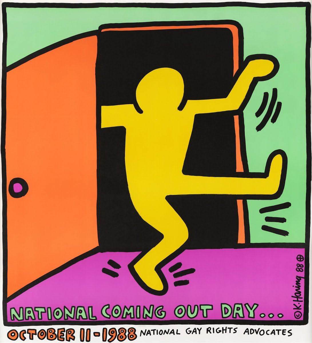 National Coming Out Day USA - Keith Haring — Google Arts & Culture