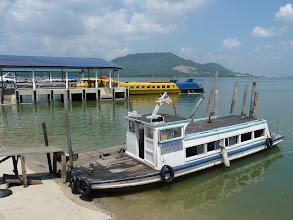 Photo: Lumut - ferry in background