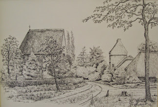 Photo: pentekening kapel van Gageldonk