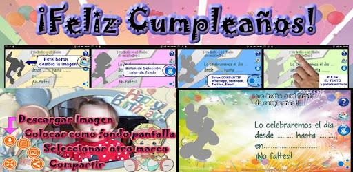 Crear Invitaciones Cumpleaños Aplicaciones En Google Play