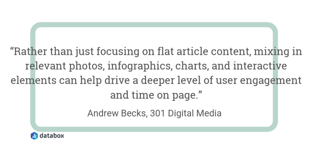 Vary Your Content and Format