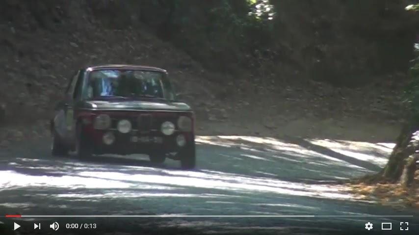 Vídeo - Rally de Portugal Clássicos em Lamego