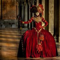 La dama rossa di
