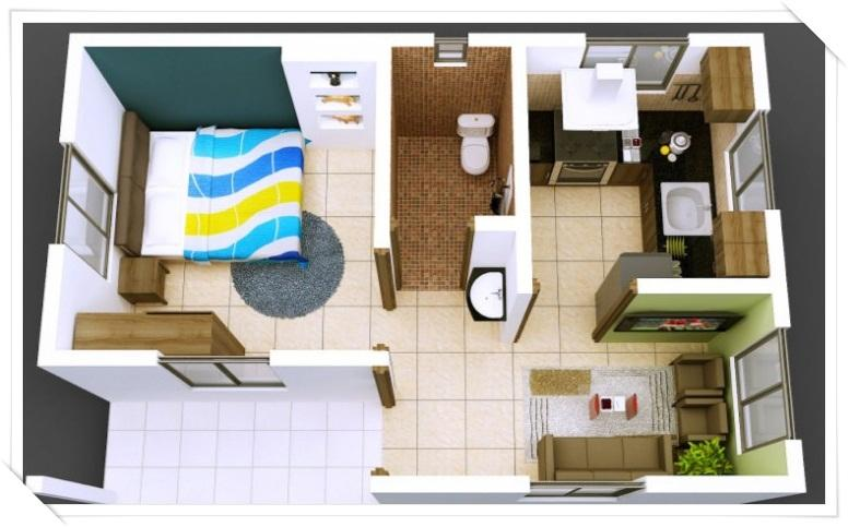 House Layout Design 3d small house layout design - android apps on google play