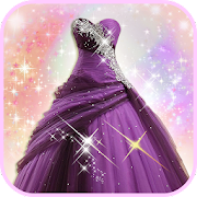 Princess Gown Fashion Photo Montage