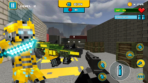 Rescue Robots Block Heroes