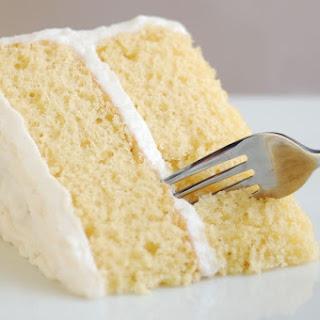 Basic Vegan White Cake.