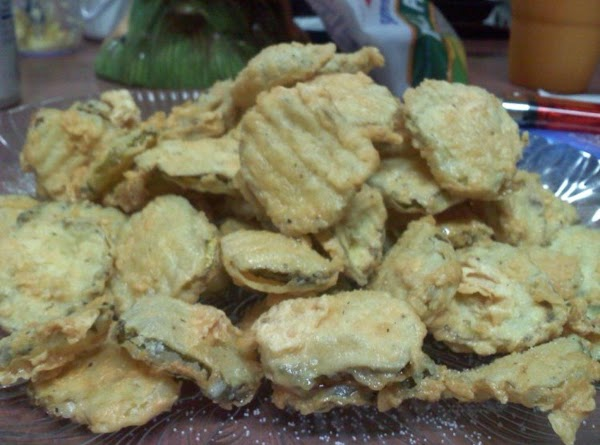 Lisa's Fried Dill Pickles Coins Recipe