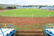 Ruined HM Pitje Stadium in Mamelodi, Pretoria.